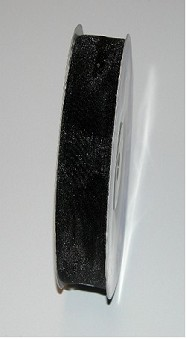 Shining Organza MM15 x50Mt Black