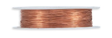 Filo Metalico Ø0'3MM x 25Mt Copper