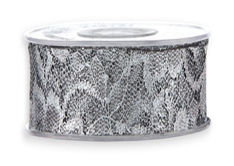 Metal Lace 58MM x10Mt Dark silver