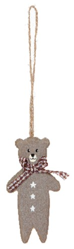 Bear Brown 10cm x6