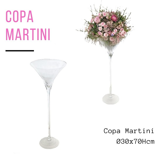 Glass Copa Martini H70 D30