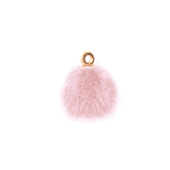 Piova FUR BUTTON (12PCS) MM15 PINK