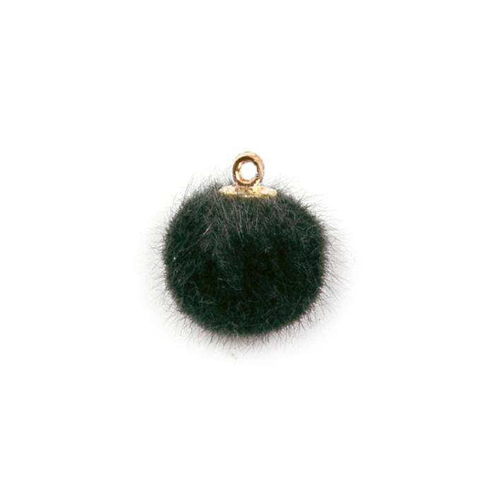 Piova FUR BUTTON (12PCS) MM15 GREEN