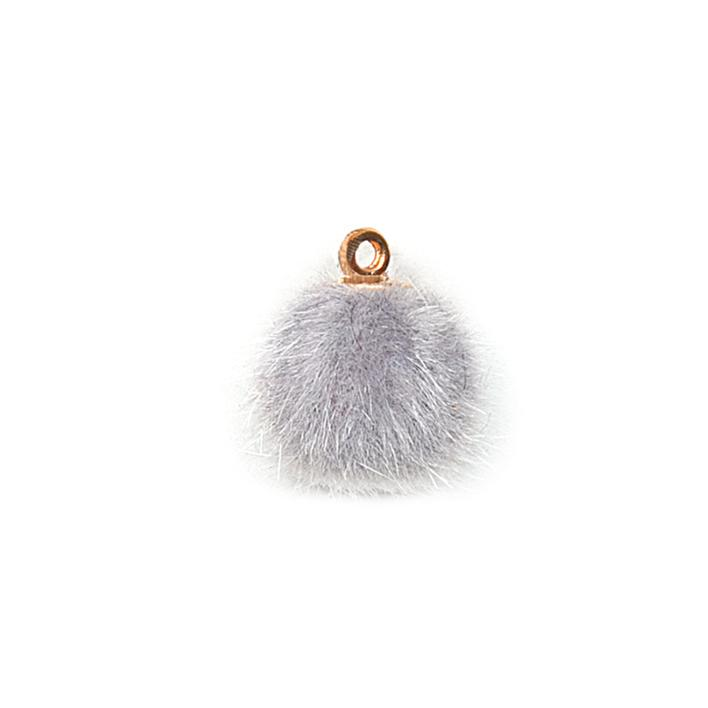 Piova FUR BUTTON (12PCS) MM15 GREY