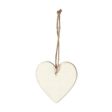 Piva  PICK CORAZON NATURAL ( 6 PCS) CM 10