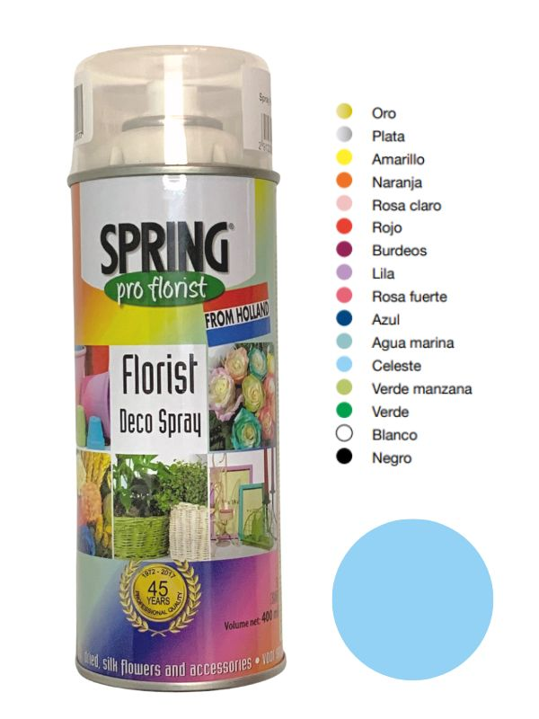 Cb Spray Celeste Para flor Natural 400ml